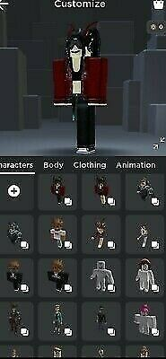 Stacked Roblox Account With Big Adopt Me and Bloxburg Inventory.