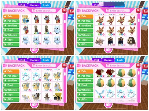 SALE! Roblox Adopt me - Adopt me account - Cheap pets - Neon Frost Included