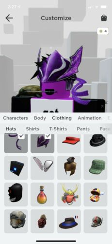 roblox account With Rare Items And Groups