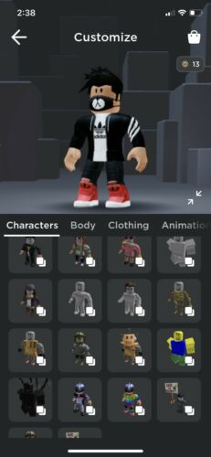 *STACKED* Rare Roblox Account