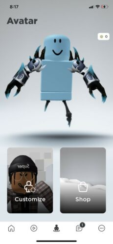 Roblox Acc With korblox and stitch face