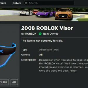 2008 Roblox Account! (CHEAP!)