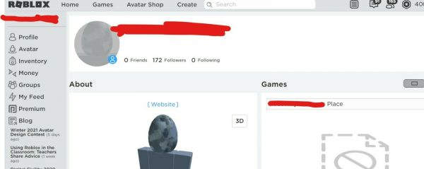EXTREMELY RARE 2006 ROBLOX ACCOUNT 500-600 ID (COMES W 400 R$ AND OLD LIMS)