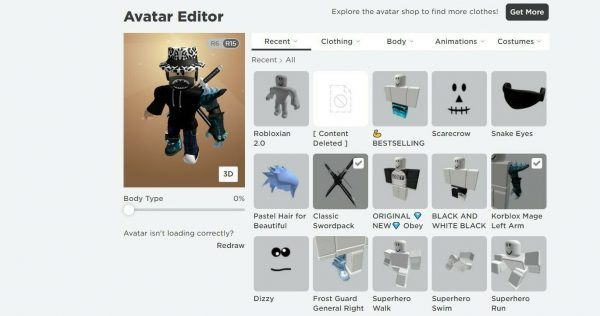 Stacked Roblox Account (Worth A lot) (Look At Description)
