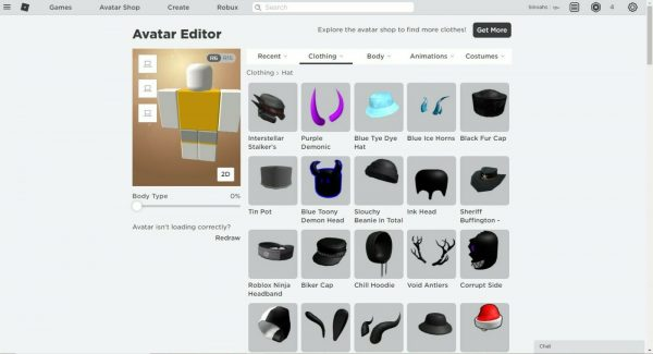Roblox Account w 700$ worth of items