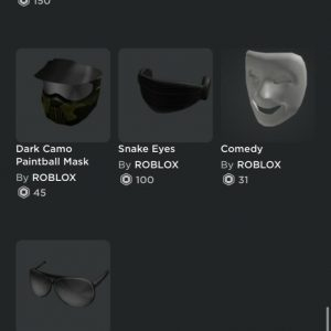 2015 Roblox Account 900+ dollars spent on Clothing Hats and Gamepasses