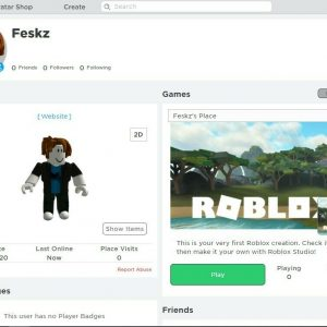 ROBLOX 5 Letter Account Name [Empty Inventory, But RARE]