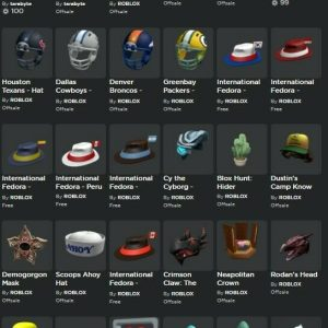 Roblox account   Over 200k Robuxs spent   100k followers  Has offsale items