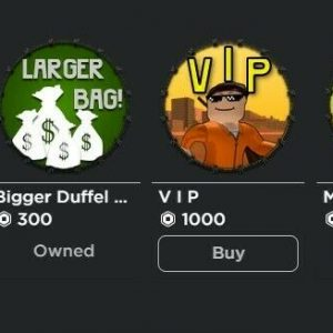 Roblox Account with really good gamepasses,rare items,and catalog