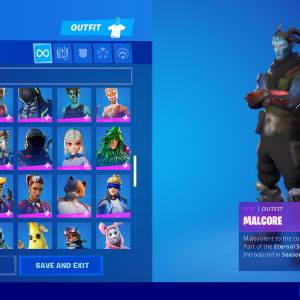 FÖRTNITE ACCOUNT +135 SKINS FULL ACCESS + EMAIL ACCESS + INSTANT DELIVERY